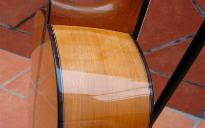 Guitarra Flamenca de ciprés.