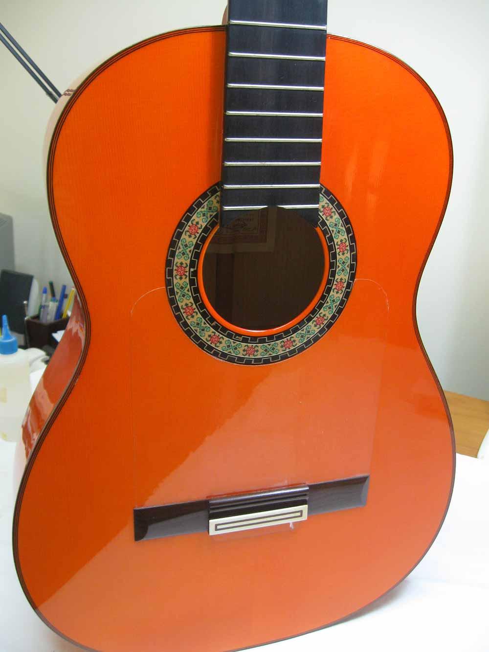 guitarra flamenca reparación fernando moreno luthier sevilla